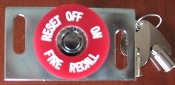 Fire Recall switch FEO-K1, Horizontal